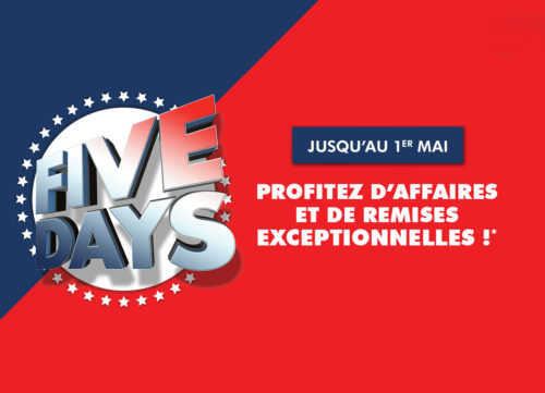 five days ubaldi 2018 printemps