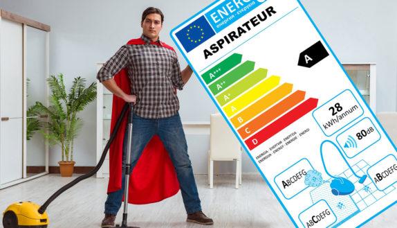 quel aspirateur choisir grâce à étiquette énergétique