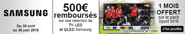 TV samsung promotion coupe du monde