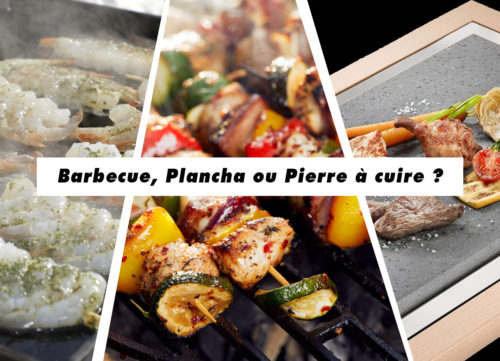 choisir barbecue ou plancha ou pierre à cuire ?