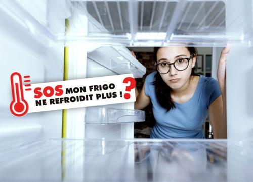 que faire si mon frigo ne refroidit plus ?