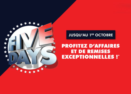 Five days ubaldi septembre 2018
