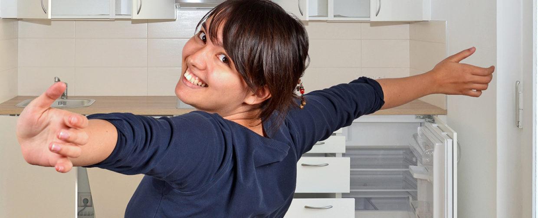Aménager une cuisine d'étudiant
