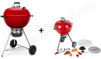 Barbecue charbon Master Touch Weber