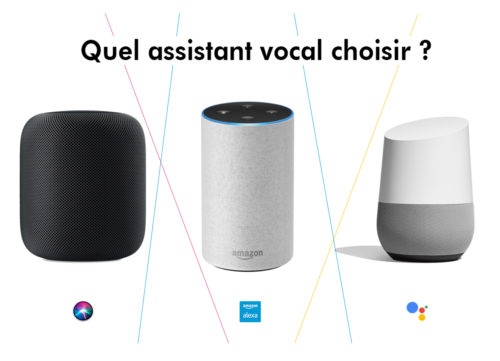 quel assistant vocal choisir : google, amazon ou apple ?