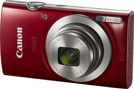 appareil photo compact rouge canon