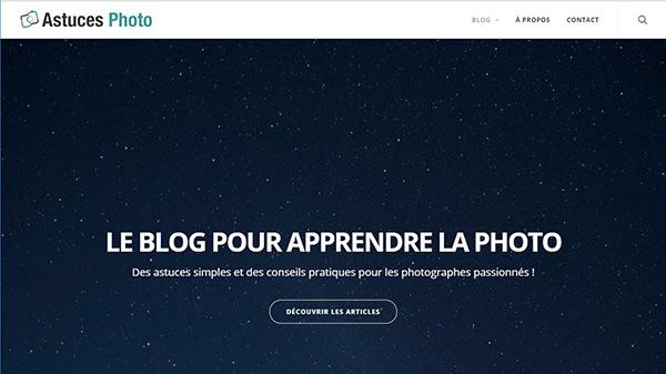 site pour apprendre photo : astuces photo