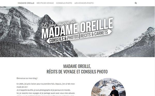 blog pour apprendre photo : madame oreille