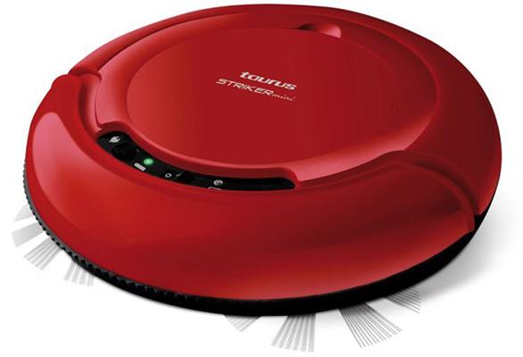 aspirateur robot rouge