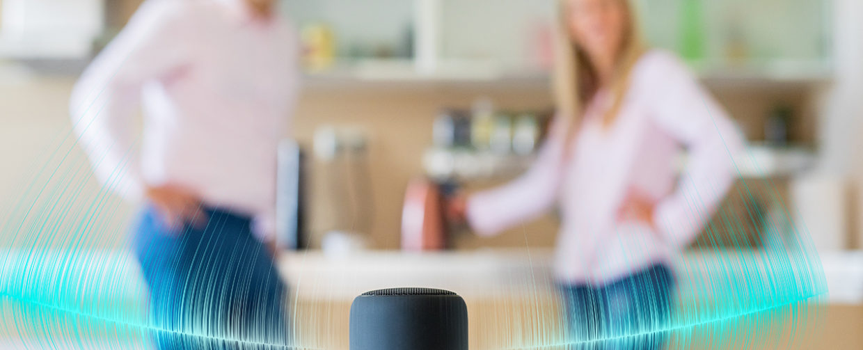 parler à son assistant vocal à la maison