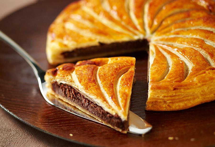 galette des rois au chocolat