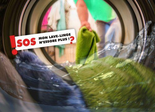 machine à laver essore mal