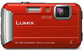 appareil photo rouge panasonic compact