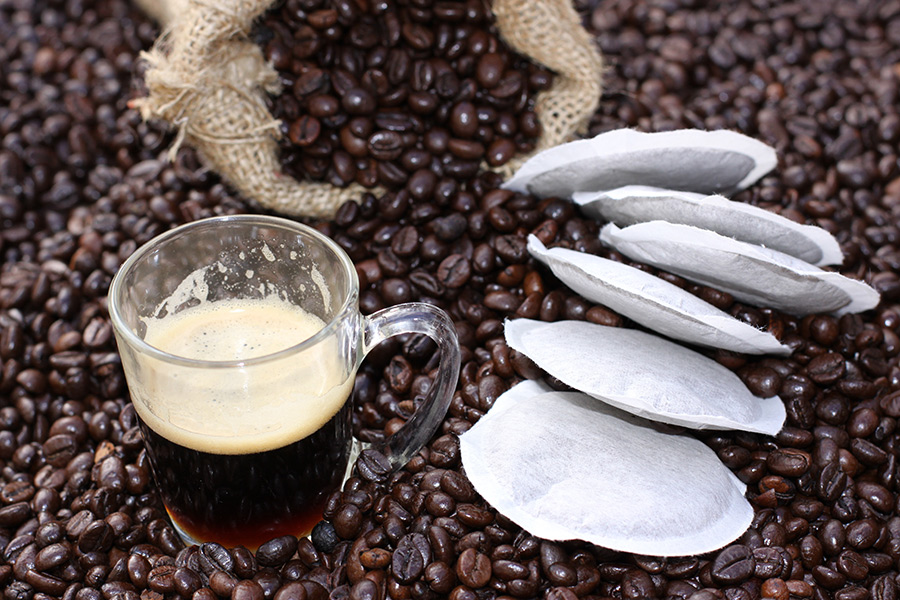 machine café dosettes