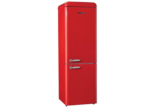 Réfrigérateur rétro rouge Schneider