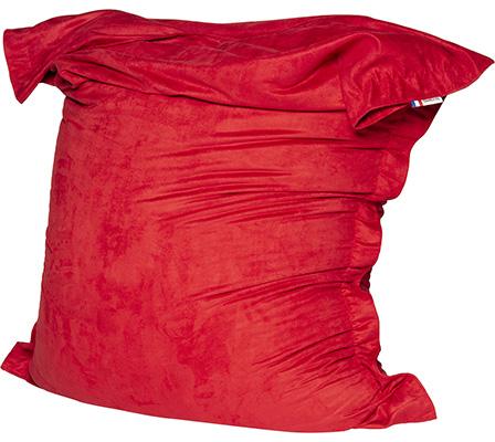 pouf shelto intérieur rouge