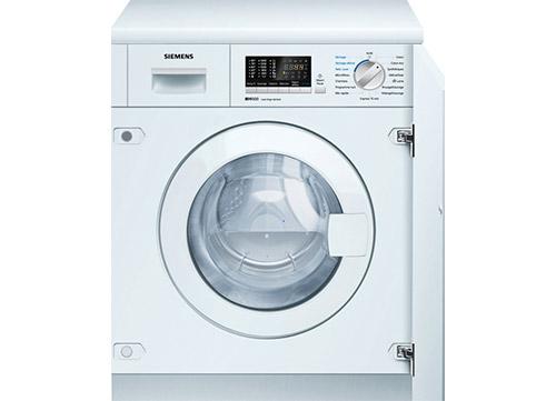lave-linge séchant encastrable Siemens