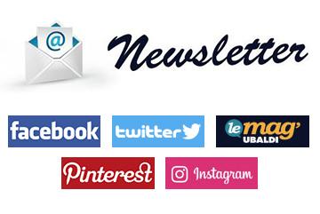 newsletter et réseaux sociaux blog
