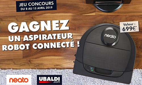 jeu concours facebook ubaldi neato