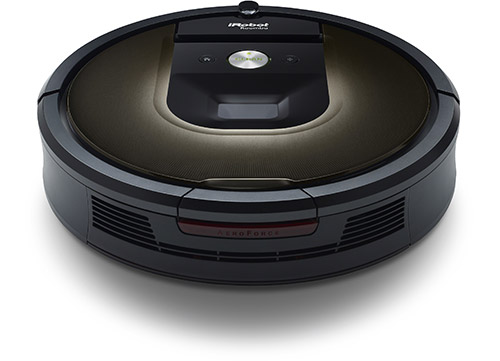 Aspirateur robot connecté iRobot Roomba connecté
