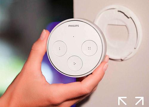 télécommande pour lumière connectée Philips Hue