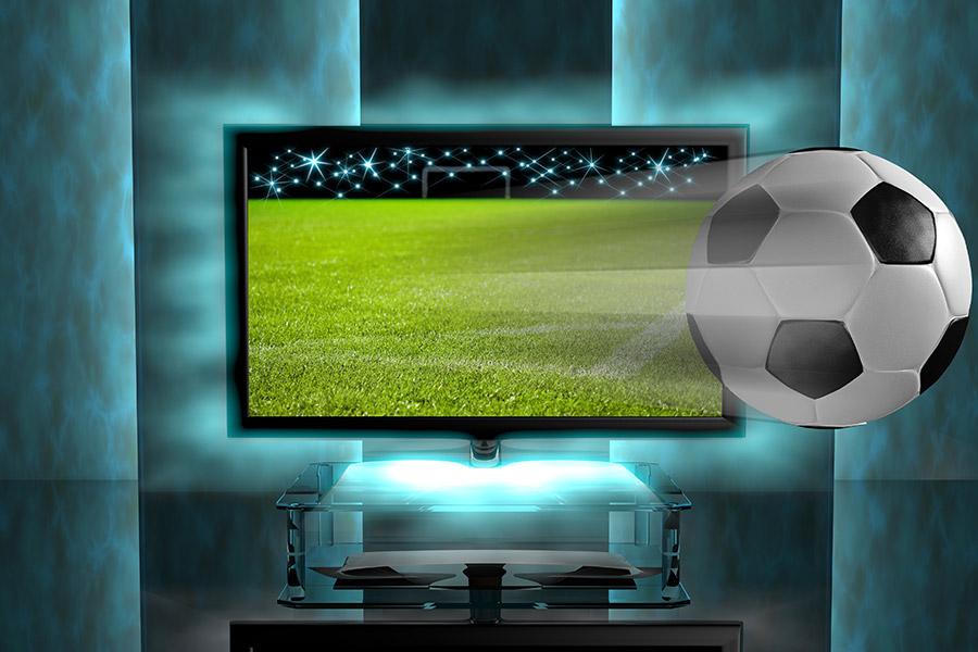 TV programme foot