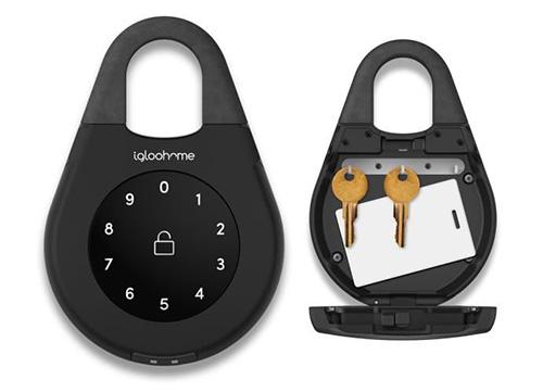 Boîte à clé connectée