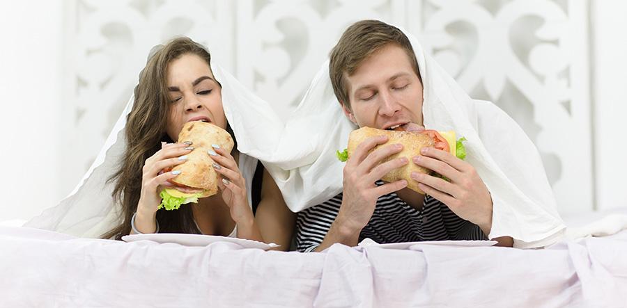 hygiène du linge de lit et nourriture