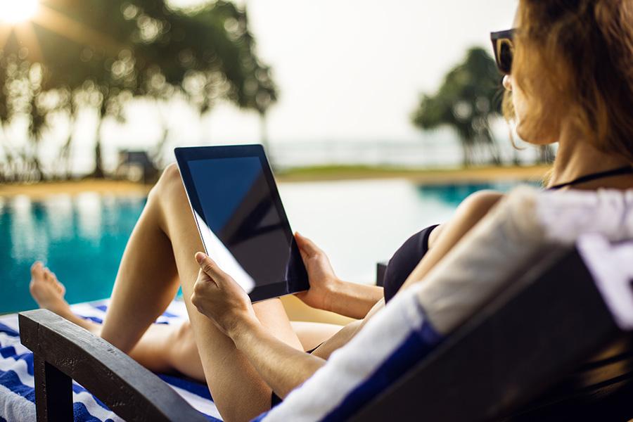 tablette vacances