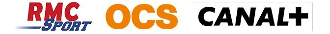OCS, Canal + et RMC sport