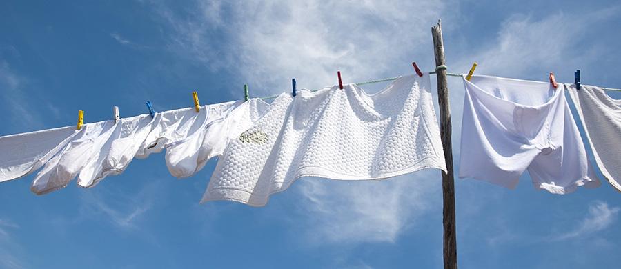 comment faire sécher ses draps