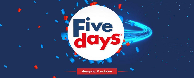 five days ubaldi septembre octobre 2019