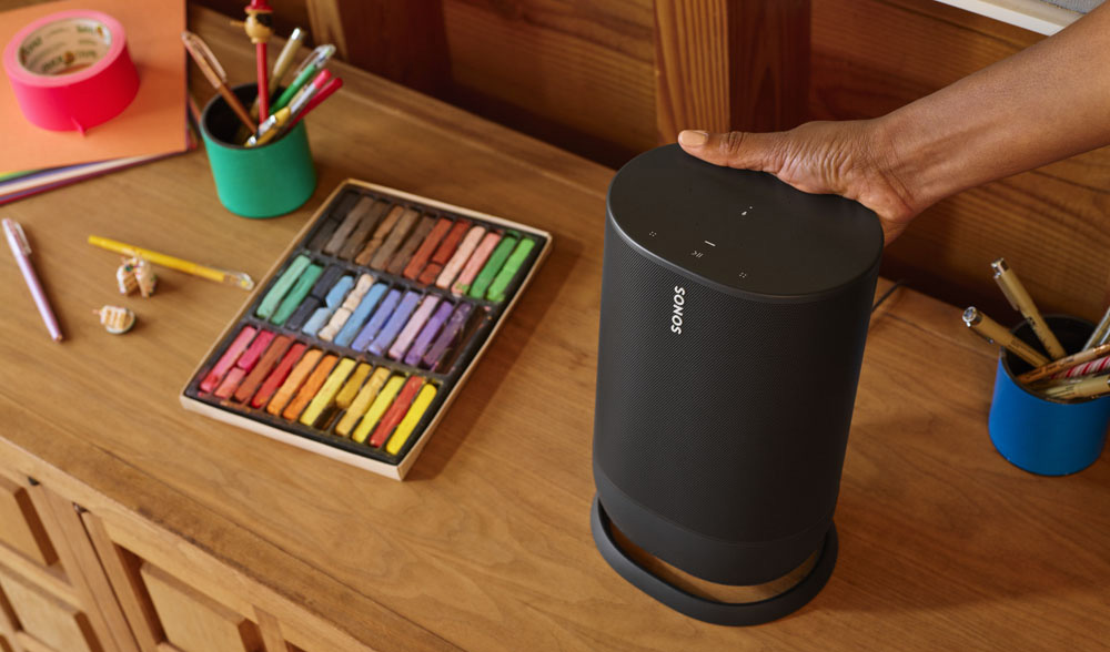 sonos move sur sa base