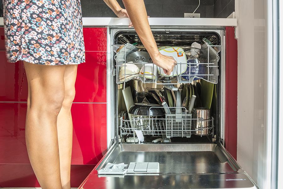 débarrasser son lave vaisselle