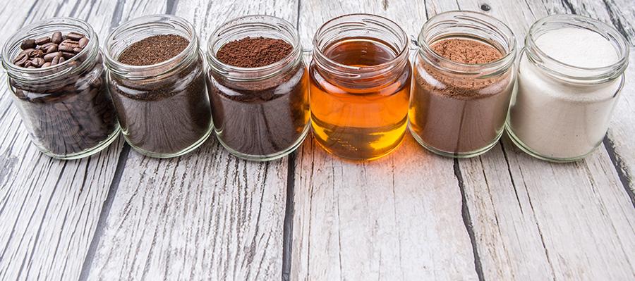 recette miel au café
