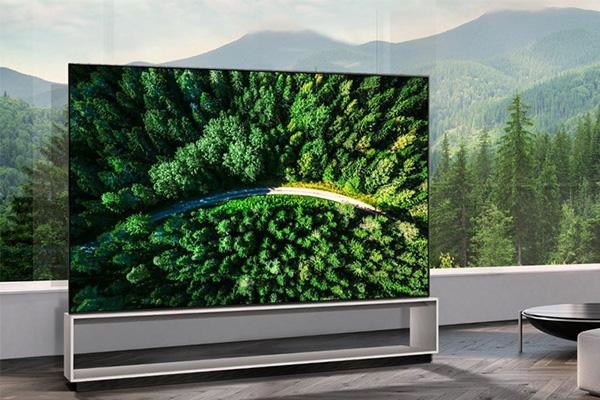tv lg oled 88 pouces