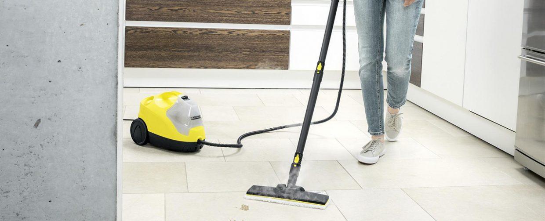 nettoyer son sol à la vapeur