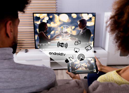 quel techno de partage d'ecran