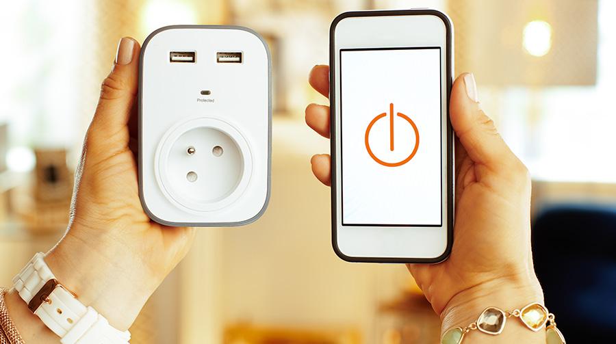 prise connectée smartphone