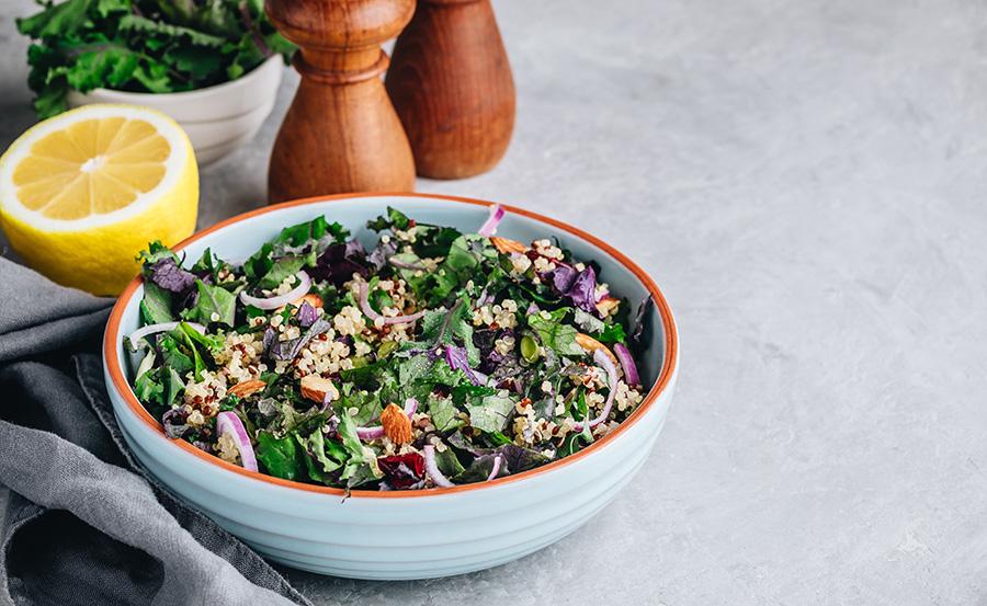 salade pour booster santé