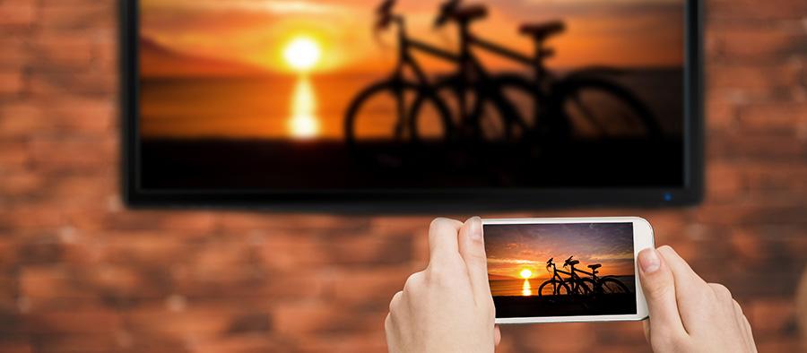 partage ecran smartphone sur televiseur
