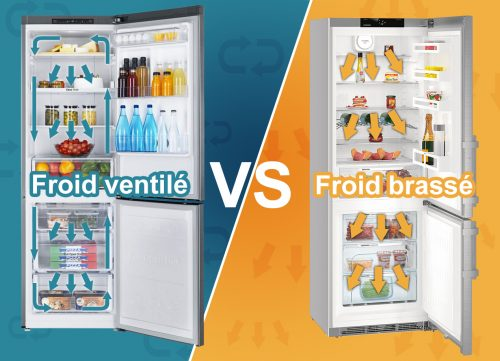 faut -il choisir un frigo froid brassé ou ventilé