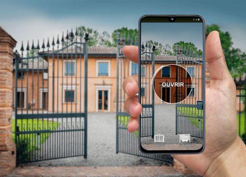 ouvrir son portail avec son téléphone