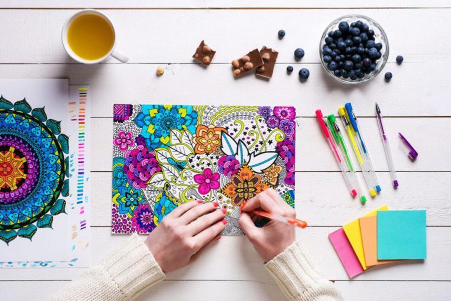 offrir et imprimer des coloriages pour adultes