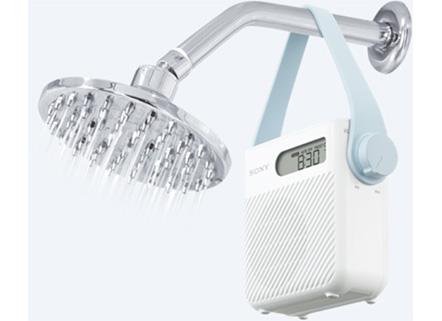 radio pour la douche sony