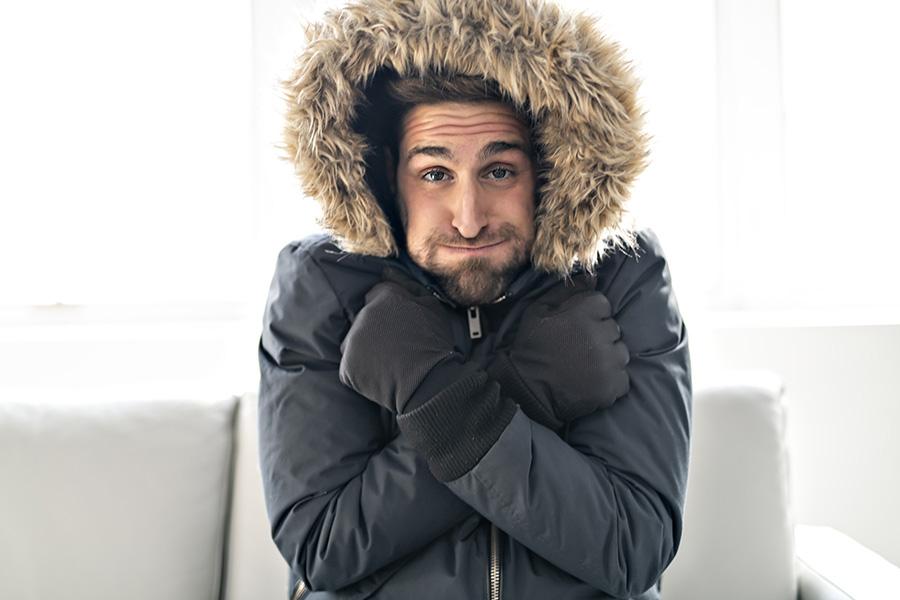 froid de l'hiver
