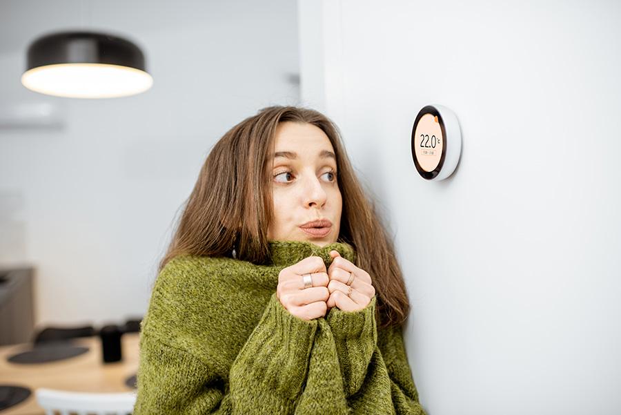 régler le thermostat de son chauffage