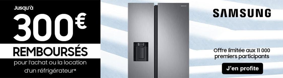 promotion frigo samsung janvier fevrier mars 2020