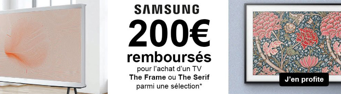soldes the frame the serif samsung 2020
