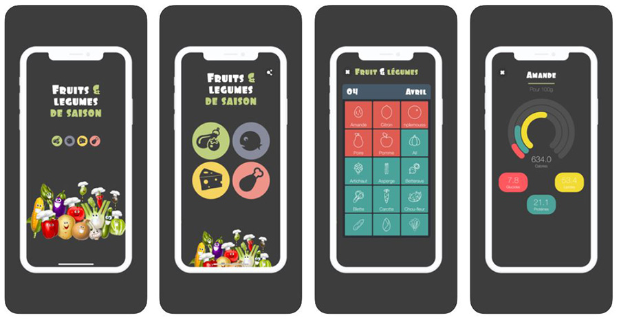 app ios fruits et légumes de saison